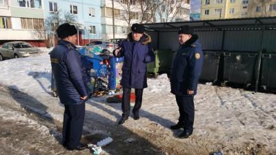 Руководство Госадмтехнадзора Подмосковья проинспектировало ход зимней уборки в Волоколамске