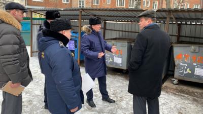 Руководство Госадмтехнадзора проинспектировало ход сезонной уборки в Егорьевске