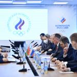 Руководство НОК Беларуси побывало с рабочим визитом в Москве