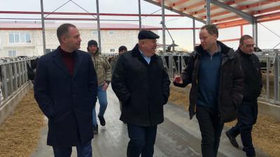 Сергей Воскресенский проверил строительство животноводческого комплекса «Ступинская Нива»