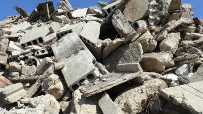 Свалка строительных отходов в Наро-Фоминском районе
