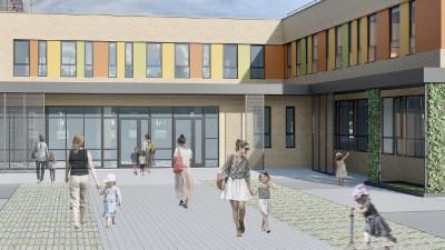 Школу и детский сад планируют возвести в Ленинском округе
