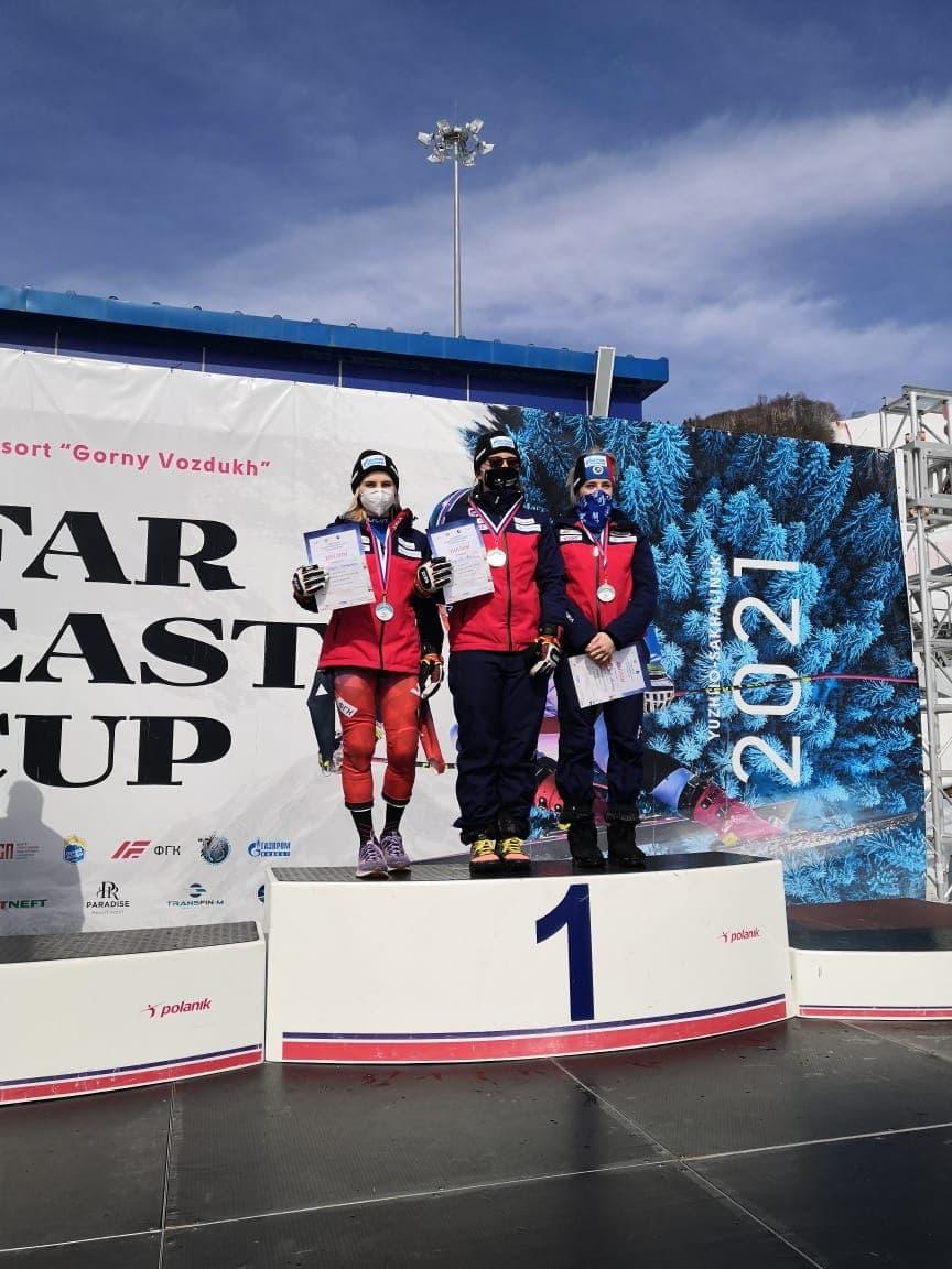 Спортсмены из Московской области стали обладателями 6 наград первенства России по горнолыжному спорт...