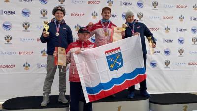 Спортсмены из Подмосковья завоевали 11 медалей на чемпионате России по санному спорту
