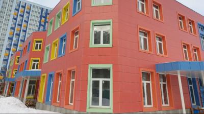 Строительство детского сада на 180 мест в Мытищах ведется в графике