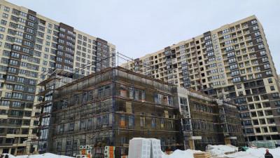 строительство детского сада в Мытищах
