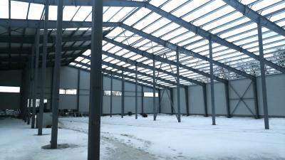 Строительство производственно-складского комплекса проверили в Пушкинском городском округе