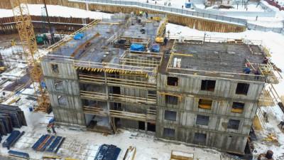 Строительство домов ЖК «Изумрудные холмы» в Красногорске