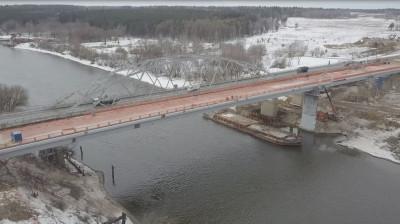 Устройство гидроизоляции на проезжей части завершили на Афанасьевском мосту в Воскресенске