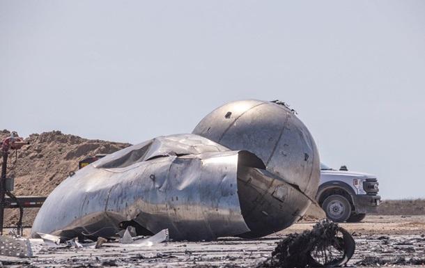 В сети показали обломки взорвавшегося Starship