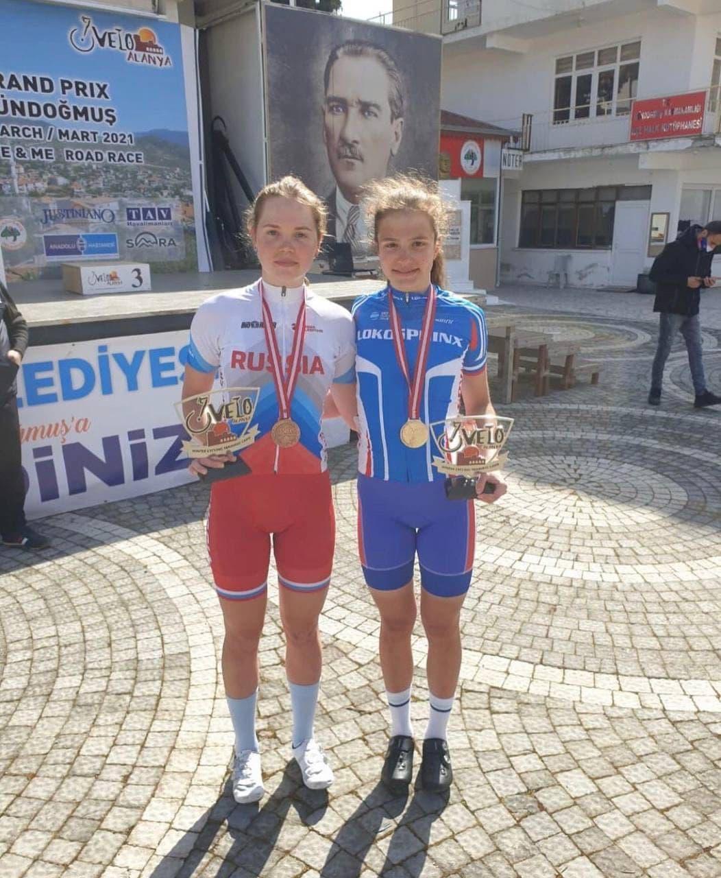 Велогонщица из Подмосковья вошла в тройку сильнейших спортсменок на международных соревнованиях в Турции