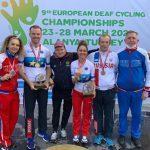 Велогонщики из Подмосковья завоевали 6 медалей на чемпионате Европы по спорту глухих