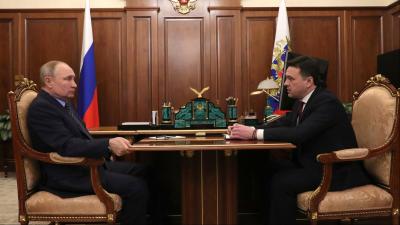 Владимир Путин и Андрей Воробьев провели рабочую встречу