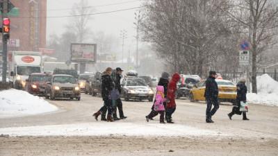 Водителей и пешеходов региона призвали к внимательности из-за снега и гололеда
