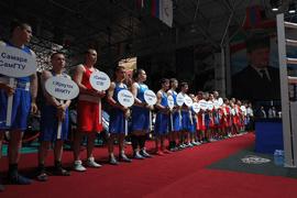 Всероссийские соревнования среди студентов по боксу открылись в Грозном
