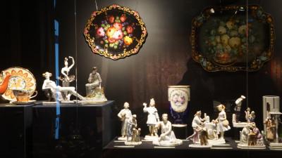 Выставка изделий народных художественных промыслов Московской области проходит в столице