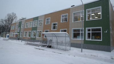 Здание детского сада капитально отремонтировали в Одинцовском округе