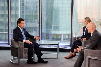 Андрей Воробьев подвел итоги апреля в эфире телеканала «360»