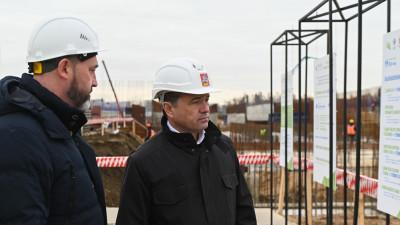Андрей Воробьев посетил с рабочим визитом городской округ Щелково