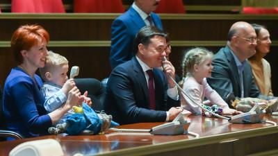 Андрей Воробьев поздравил коллектив РКК «Энергия» с Днем космонавтики