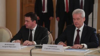 Губернатор принял участие в заседании попечительского совета МГУ