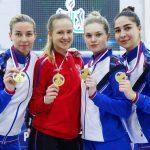 Атлеты из Подмосковья завоевали 7 медалей на чемпионате России по фехтованию