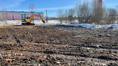 Аварийное здание бывшей школы снесли в городском округе Ступино