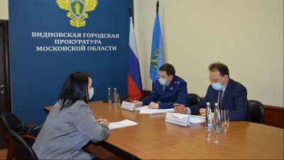 Бизнес-омбудсмен и прокурор Подмосковья провели совместный прием предпринимателей