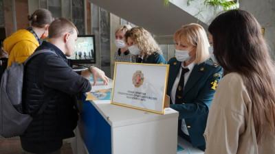 Более 100 студентов заинтересовались работой в Главгосстройнадзоре на ярмарке вакансий в МГСУ