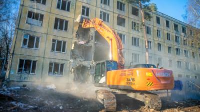 Более 260 недостроев и аварийных объектов ликвидировали в Подмосковье в I квартале 2021 года