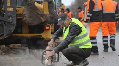Дорожники в Раменском округе приступили к строительству тротуаров