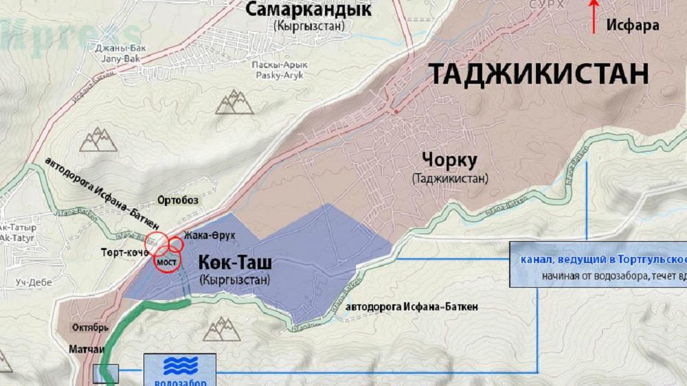 драка за межу возле родника о конфликте киргизии и таджикистана