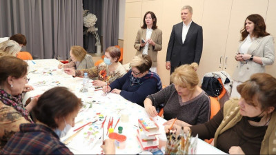 Елена Харламова посетила библиотеку №1 в Одинцове