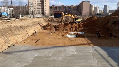 Главгосстройнадзор проверил соблюдение застройщиком графика строительства дома в Люберцах