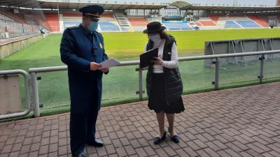 Главгосстройнадзор выявил нарушения на стадионе «Сатурн» в Раменском