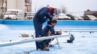 Самый большой фонтанный комплекс готовят к запуску в городском округе Солнечногорск