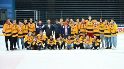 Юные хоккеисты из Подмосковья стали лучшими на первенстве ЦФО