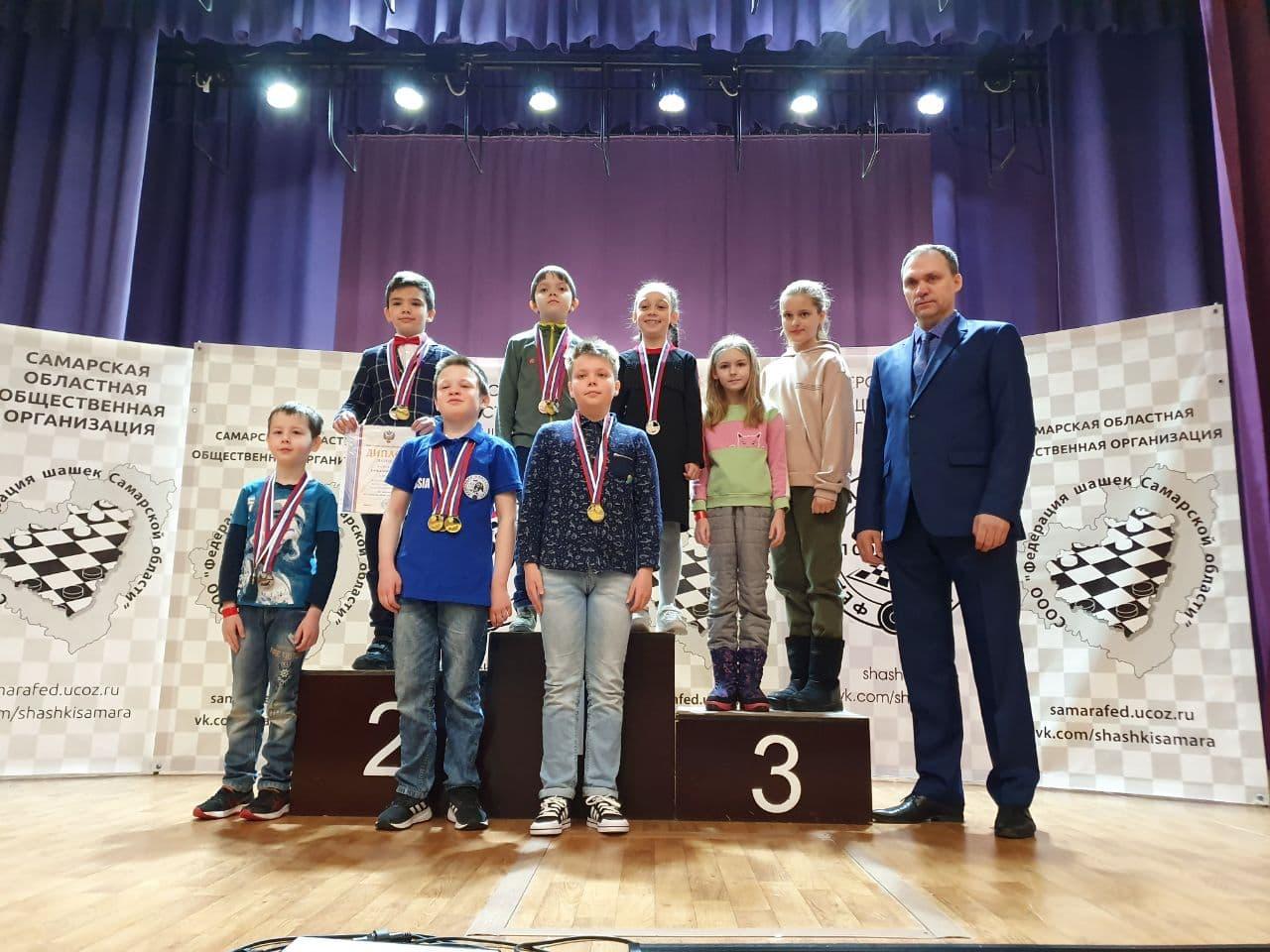 Юные спортсмены из Московской области победили на первенстве России по шашкам