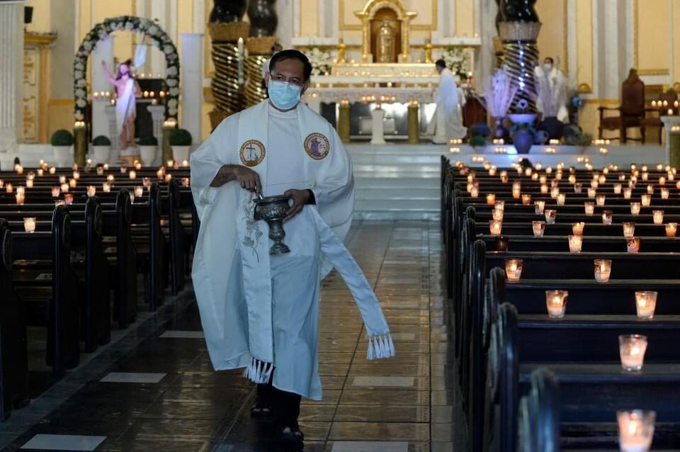 католическая пасха в условиях коронавируса