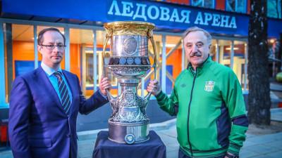 Кубок Гагарина привезли на градообразующие предприятие «Звезда» в городском округе Люберцы
