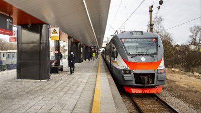 Станция МЦД-2 Опалиха