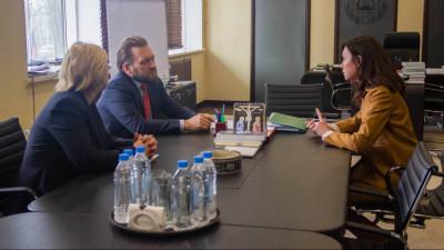 Министр культуры Подмосковья обсудила с ректором МГИК совместные проекты