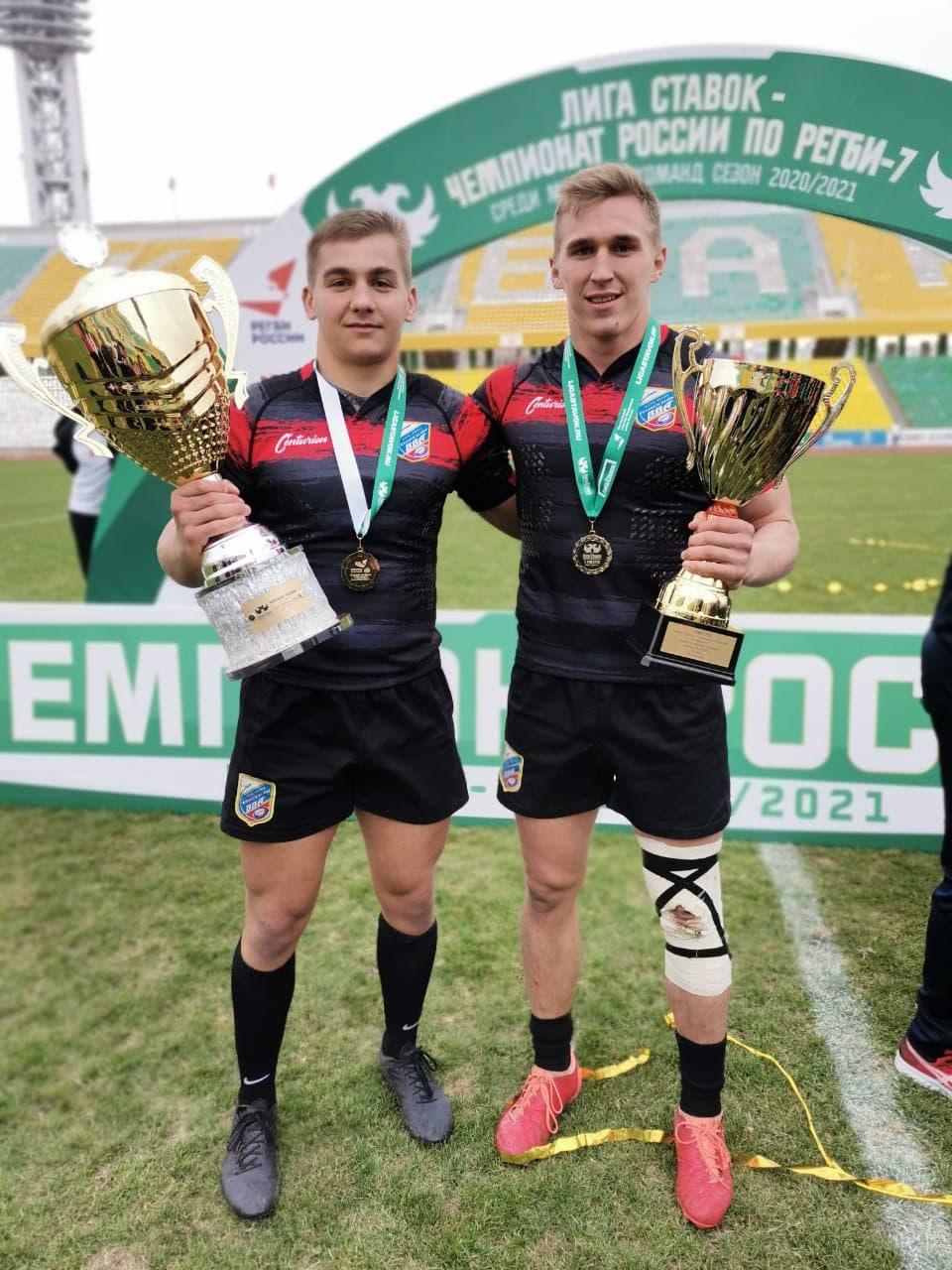 Мужская команда «ВВА-Подмосковье» стала победителем чемпионата России по регби-7