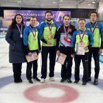Мужская сборная Подмосковья завоевала серебряные медали на чемпионате России по кёрлингу