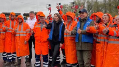 Наталья Виртуозова открыла субботник в Коломне