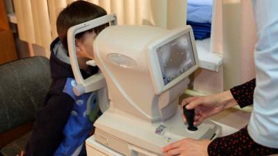 Новое оборудование для диагностики зрения закупили в медорганизации Подмосковья