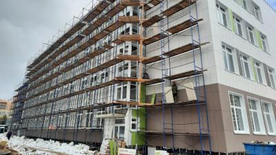 Новую школу откроют в Серпухове в сентябре