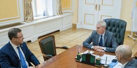 Олег Матыцин обсудил с губернатором Самарской области Дмитрием Азаровым вопросы развития физической культуры и спорта