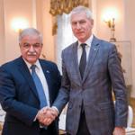 Олег Матыцин обсудил с Послом Кубы Хулио Гармендия Пенья вопросы двустороннего сотрудничества в сфере спорта