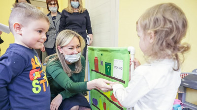 Ольга Забралова проверила работу нового детсада в городском округе Балашиха